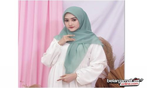 Jilbab Bella Square Laser Cut